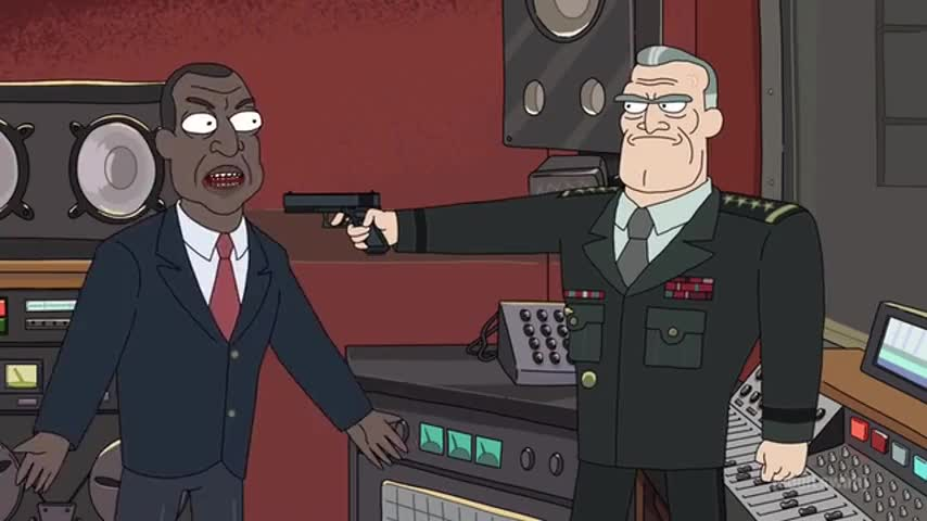I'm the goddamn president of the United fucking States!