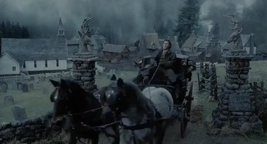 - Van Ripper, turn the coach. - What?