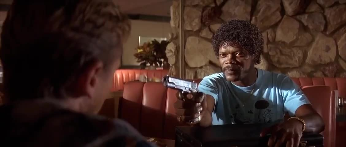 Clip image for 'Jules, you give that fuckin' nimrod 1,500 dollars, and I'll shoot him on general principle.