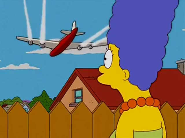 Why is that jet flying so close to our house?