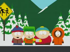 Dude, how is putting Butters' wiener in your mouth getting him?