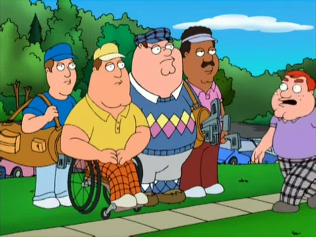 Hey, you that Griffin boy's father? Paddy Tanninger, the caddy manager.