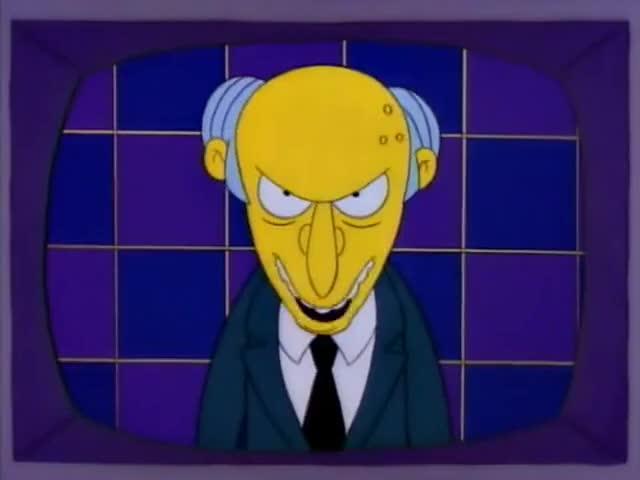 - Give me my bear, Simpson! - [ Shrieks ]