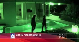 Audrina Patridge posted this security footage on her Web site.