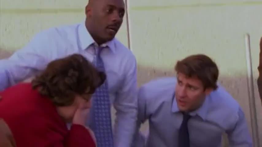 Why'd you duck, Jim? DWIGHT: Yeah, Jim.