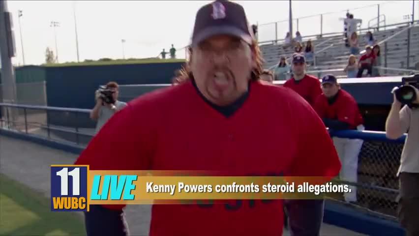I said I'm not on steroids!
