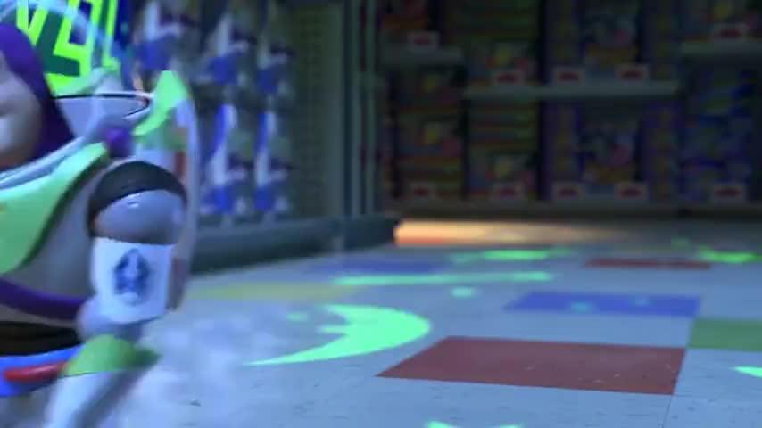 No, no, guys! You've got the wrong Buzz! You've got the wrong Buzz!