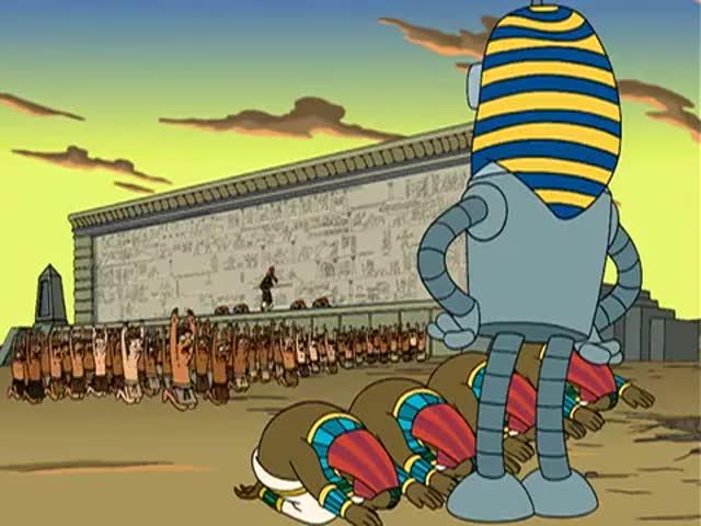 Long live Pharaoh Bender!