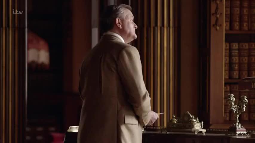 It's Bertie Pelham, the agent from Brancaster Castle.