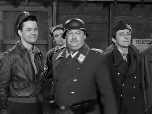 Clip image for 'Herr Kommandant, all prisoners present and accounted for.