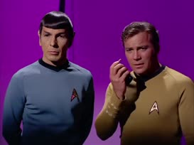 Kirk to Enterprise. Five to beam up.