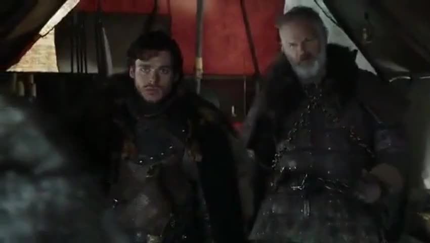 We'll shove our swords up Tywin Lannister's bunghole