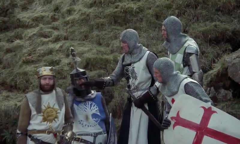 - We have the Holy Hand Grenade. - Yes. The Holy Hand Grenade of Antioch.
