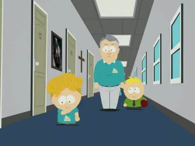 Bradley! How about you be Butters' accountabilibuddy?