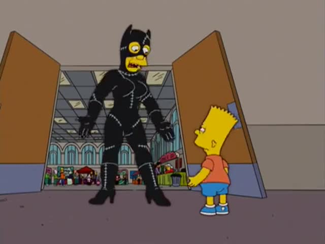 You... They told me it was Catman!