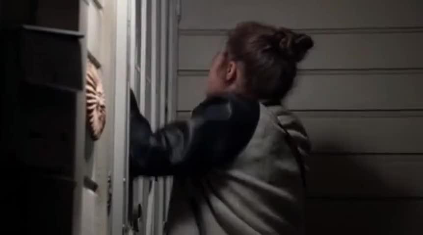 Open the goddamn door!
