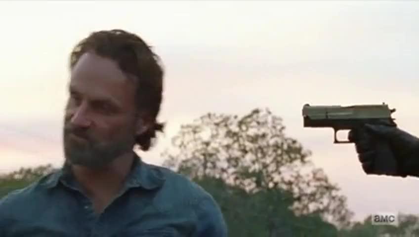 Negan: You push me, and you push me.