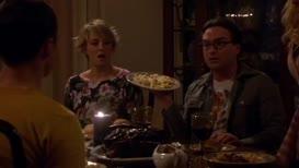 Sheldon, Leonard, living room, right now!