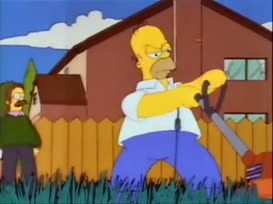 Homer, you silly goose.