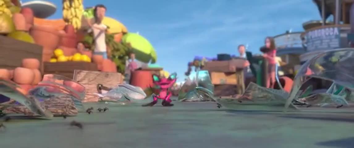 Poison frog!