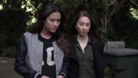 that text was Jenna's way of welcoming Alison home.