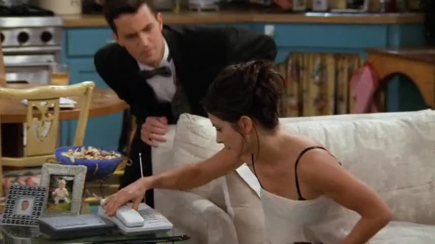 Monica, I think you've gone over to the bad place.