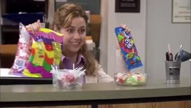 Name's Pam. Miss Beesly, if you're nasty.