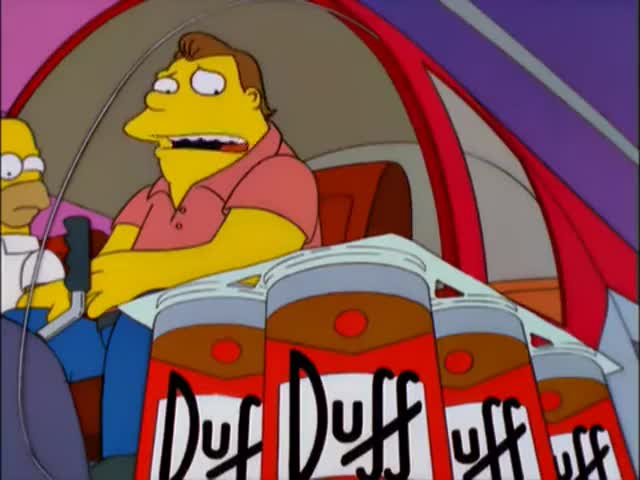 - Beer! That's what I need! - Barney, no! Don't!