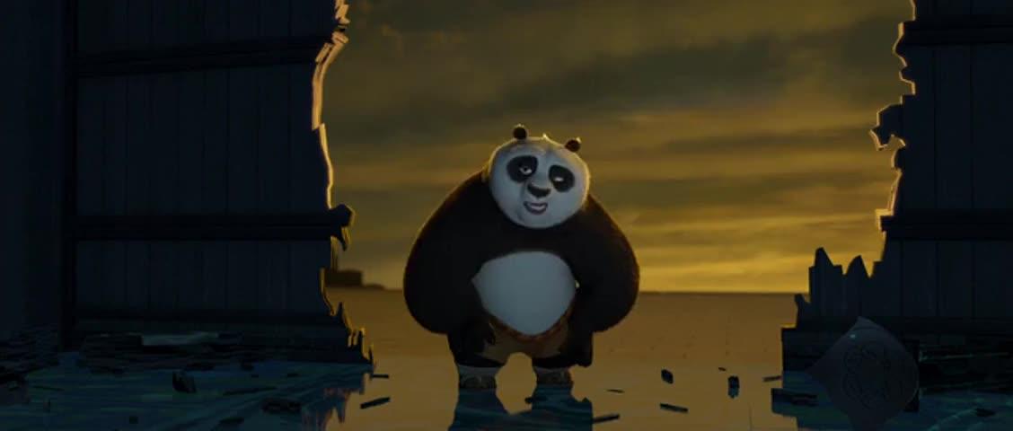 panda Kung piss fu