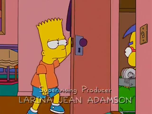 Hey, Bart, I fixed my rock tumbler.