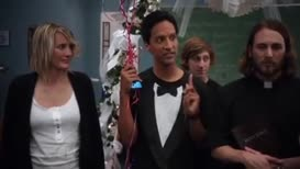 But still razzle-dazzle, right? Abed.
