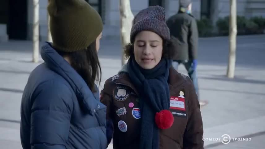Yarn | Yes, and, and then haircuts with Eliot  ~ Broad City