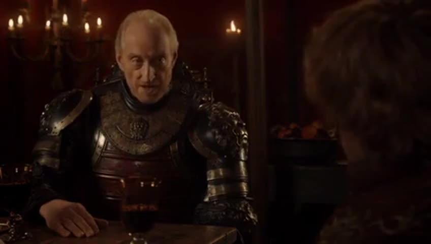 - Baelish, Varys, Pycelle... - Heads, spikes, walls.