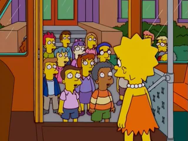 (SINGING) Poor Lisa Poor Lisa