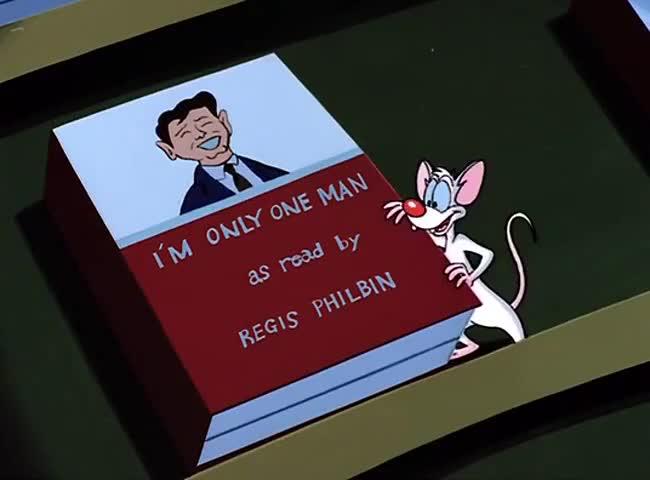 REGIS PHILBIN'S I'M ONLY ONE MAN.