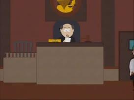 Bailiffs! Escort this little bastard to juvenile hall!