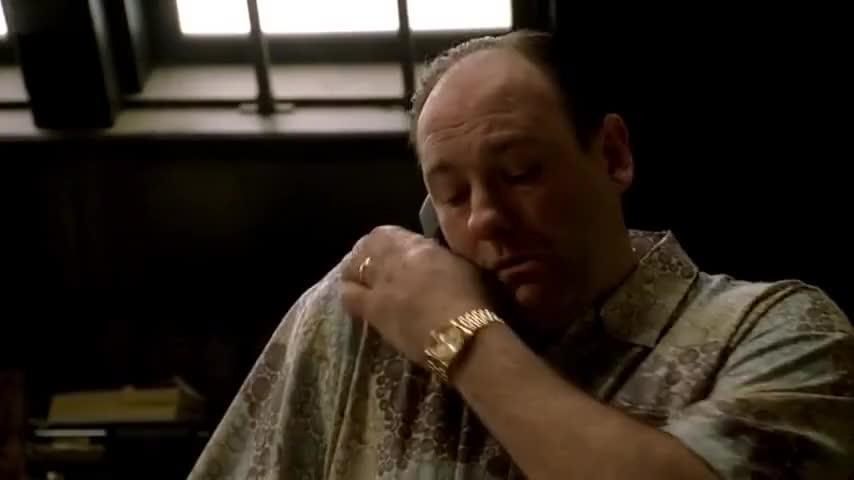 Three Ball, Far Corner. ~ The Sopranos (1999-2007