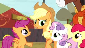 Trouble Shoes has a gift for making ponies laugh.