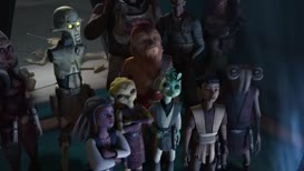 Clip thumbnail for 'Show me your swords, tiny Jedi.