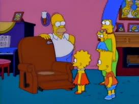 - Gangway! Gotta poop. - No, Bart!