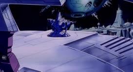 Laserbeak returns, Megatron.