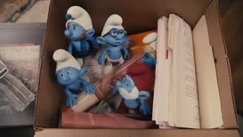 - That's Clumsy! - Charge, Smurfs! Charge!