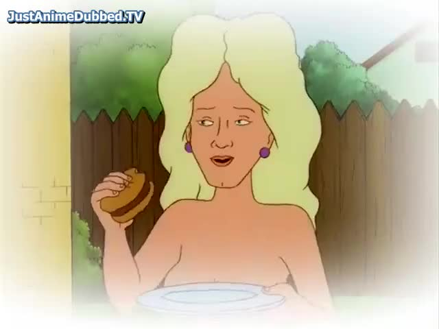 The word Nancy king of the hill naked are