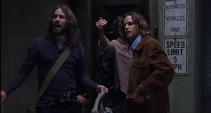 Clip image for '- I'm incendiary too, man. - I didn't mean fuck off.