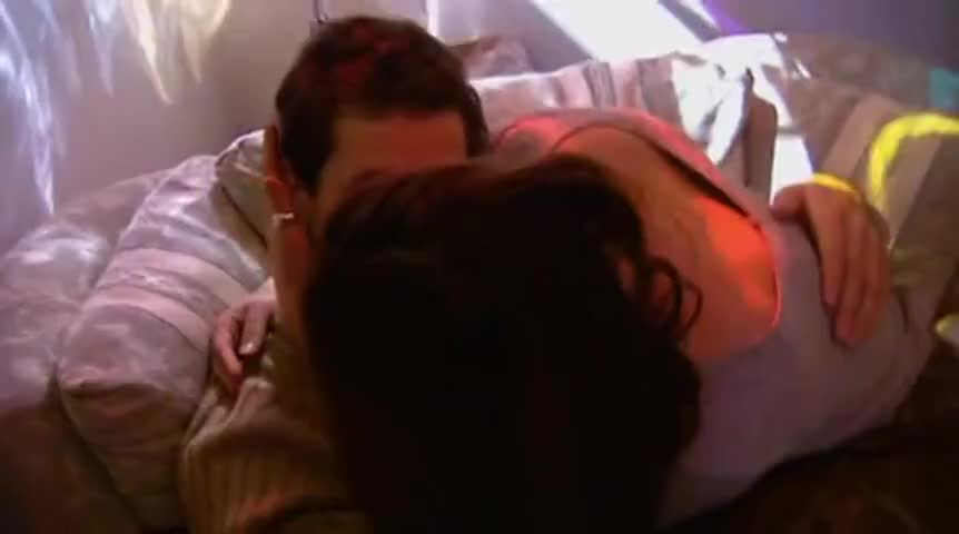'She's snogging him already. The dream is over, I am detritus. '