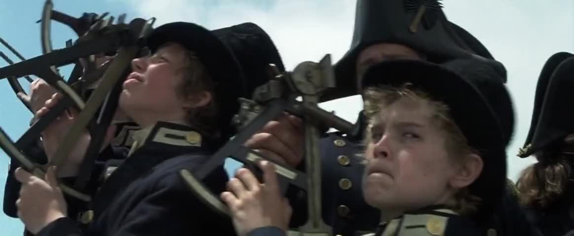 Yarn | When its lower limb is touching the horizon... Williamson, look to  your sextant. ~ Master and Commander: The Far Side of the World | Video  clips by quotes, clip |