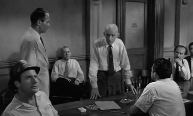 an analysis of guilty in 12 angry men