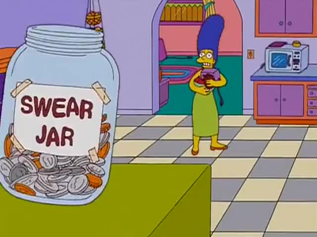 Clip image for 'Unh, not the swear jar.