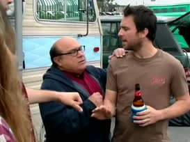 I never bumped him once! I'm not gonna bump him! Let's go, Charlie.