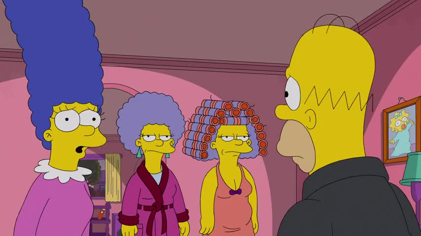 Uh, Homie, Patty and Selma lost their jobs at the DMV,